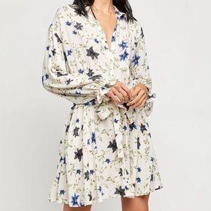 Free People Lighten Up Mini Dress Size S NEW